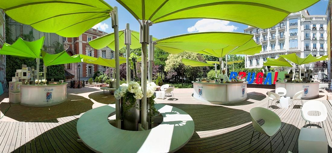 Jardin brugal en la casa de am rica diario ya for Casa y jardin tienda madrid