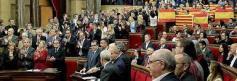 El Parlamento Catalán en el momento de la desconexión