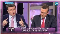 """Imagen del debate en """"El gato al agua"""""""